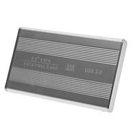 """2.5 """"Alluminum USB 3.0 SATA HDD Enclosure Boîtier externe pour notebook / ordinateur portable"""