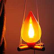 Fyringsved stil Lamp Night Light (tilfeldig farge)