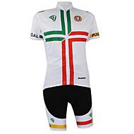Kooplus2013 Championnat Jersey Portugal polyester et lycra et élastique maillots de vélo de tissu (T-shirt + pantalon)