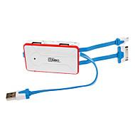 Card Reader+USB Hub+Data Line All in 1 Multi Function Combo