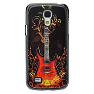 Muoti Guitar Pattern alumiini suojakotelo Samsung Galaxy S4 mini I9190