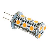 G4 / GU4(MR11) 3 W 18 SMD 5050 180-220 LM Warm White Corn Bulbs AC 12 V