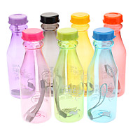 Botellas de Agua(Amarillo / Verde / Rosa / Negro / Azul / Morado / Naranja,Plástico