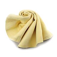 Merdia Camoscio sintetico asciugatura pulizia panno asciugamano per le automobili (43 x 33cm)