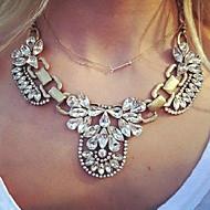 Žene Ogrlice s privjeskom Vintage ogrlice Koža Legura Moda kostim nakit Jewelry Za Kauzalni