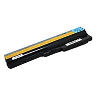 5200mAh erstatning laptop-batteri for Lenovo IdeaPad Y430 V450 v430a v450a Y430a Y430g L08O6D02 L08S6D01 - Svart