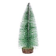 """28cm 11 """"pin givrée arbre de Noël de bureau Top Ornements"""