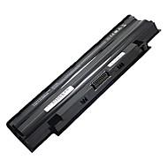 5200mAh erstatning laptop-batteri for Dell Inspiron 13R 14R 15R 17R M501 M5010 N4010 M5010R 383CW 9Cell - Svart