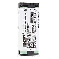 Remplacement de la batterie 2.4V/850mAh pour Téléphone sans fil (Panasonic 2620/2622/2438)