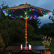 200-geleide 22m zonne-energie multicolor fairy snaar licht lamp xmas party bruiloft tuin decor