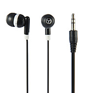 Headphone 3.5mm In Ear Canal Noise-Cancelling Remote Stereo for iPhone/ Media Player