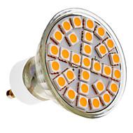 Focos LED GU10 5W 29 SMD 5050 390-430 LM Blanco Cálido AC 100-240 V
