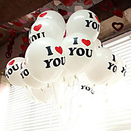 """12 """"cute og sød jeg elsker dig ballon sæt af 30"""