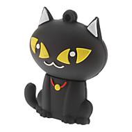 8gb süße Katze USB-Flash-Stick schwarz weiß