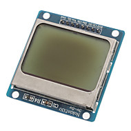"""(For Arduino) Compatible 1.6"""" LCD Nokia 5110 Module with Blue Backlit"""