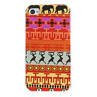 Primitive Dancers mønster hårdt tilfældet for iPhone 4/4S