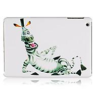 Cartoon Zebra Plastic Back Case for iPad mini 3, iPad mini 2, iPad mini