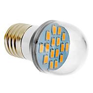 Lampadine globo 16 SMD 5630 E26/E27 8 W 650 LM 2500-3500 K Bianco caldo V