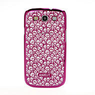 For Samsung Galaxy Case Pattern / Embossed Case Back Cover Case Skull PC Samsung S3