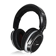 Somic MH463 Foldable Stereo 3.5mm Over-Ear Monitoring Headphone with Mic and 6.3mm Adapter for PC/Mobile/DJ
