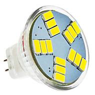 5W Lâmpadas de Foco de LED MR11 15 SMD 5630 420 lm Branco Frio DC 12 V