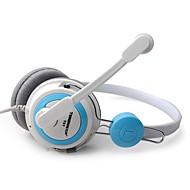 TONSION T61 Fashionabla On-Ear hörlurar med mikrofon för PC / iPhone / HTC / Samsung