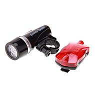 Pyöräilyvalot / Polkupyörän etuvalo / Polkupyörän jarruvalo LED Pyöräily Vedenkestävä AAA 100 Lumenia PatteriTelttailu/Retkely/Luolailu /