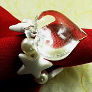 Transparent Round Napkin Ring
