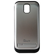 Ninja S4/Al9500 K2 3200mAh eksternt batteri etui med holder til Galaxy S4 (tilfældig farve)