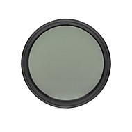 fotga®58ミリメートルスリムフェーダーNDフィルター調整可能な可変中性濃度ND2 ND400します