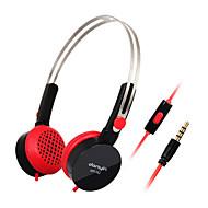 DANYIN WP-182 Over-Ear-Stereo-Kopfhörer mit Mikrofon und Fernbedienung für PC / iPhone / iPad / Samsung / iPod