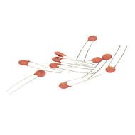 Capacitor קרמיקה לDIY מעגלים אלקטרוניים - אדומה (270-Piece Pack)