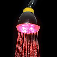 3-fargetemperatur Sensitive ABS LED fargeendringen hånddusj