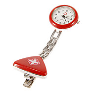 Unisex Cross Pattern Sykepleier Pocket Watch (assorterte farger)