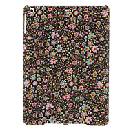 Beautiful Little Flowers Pattern Black Textile Hard Case for iPad Air