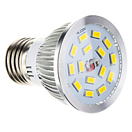 E26/E27 W 15 SMD 5730 100-550 LMCool/Warm White Dimmable Spot Lights AC 220-240 V