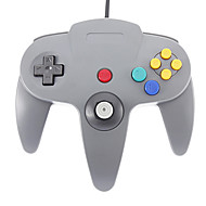 Wired Joystick Regulador del juego video de Nintendo 64 (Negro)