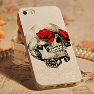 Rose & Skull design ABS takakannen iPhone 5/5S