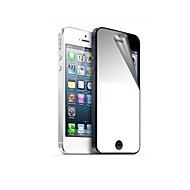 Mirror Hardcover Első és hátsó képernyővédő fólia és törlőkendő iPhone 5/5S