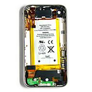 Assemblée arrière de couverture avec toutes les pièces et la batterie pour l'iPhone 3GS (8 Go)