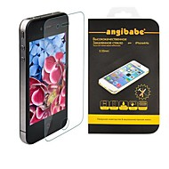 Angibabe Anti-Scratch 0.33mm Super Slim Tempered Glass Screen Protector for iPhone 4 / 4S