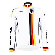 kooplus - ドイツ代表チームのサイクリング長袖フリースジャージ