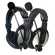 SENICC ST-2688 Over-Ear Headphone woth Mic e remoto para PC / iPhone / Samsung / HTC