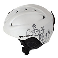 MOON® Helmet Women's / Men's Snow Sport Helmet Mountain / Half Shell Sports Helmet White / Gray Snow Helmet ABSCycling / Road Cycling /