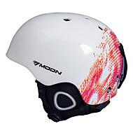 MOON Kask Dla obu płci Ultralekkie Sportowy Sport Kask Śnieg Kask CE EPS PVC Śnieg Sport Sporty zimowe Ski Snowboarding