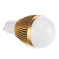 ampoules globe, GU10 3 w cob 172 lmcool / ac blanc chaud 85-265 v