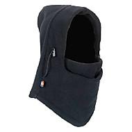 Balaclava Unisex Outdoor Windproof Black Polar Fleece Cycling Mask
