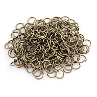 Durable Round Bronze Alloy Clasps 100 Pcs/Bag