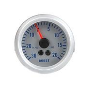 Turbo-Boost-Meter-Vakuummeter für Auto Auto 2 52mm 0 ~ 0 ~ 20 psi 30in.Hg orange Licht