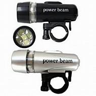 Světla na kolo Světla na kolo / Přední kolo Light LED Voděodolný Lumenů Baterie Černá / Stříbrná Cyklistika-Ostatní